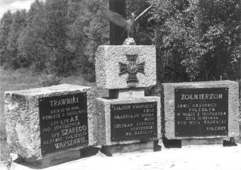Pominik pod wsią Trawniki.