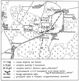 Bitwa pod Antoniowem, 21 sierpnia 1944 roku.