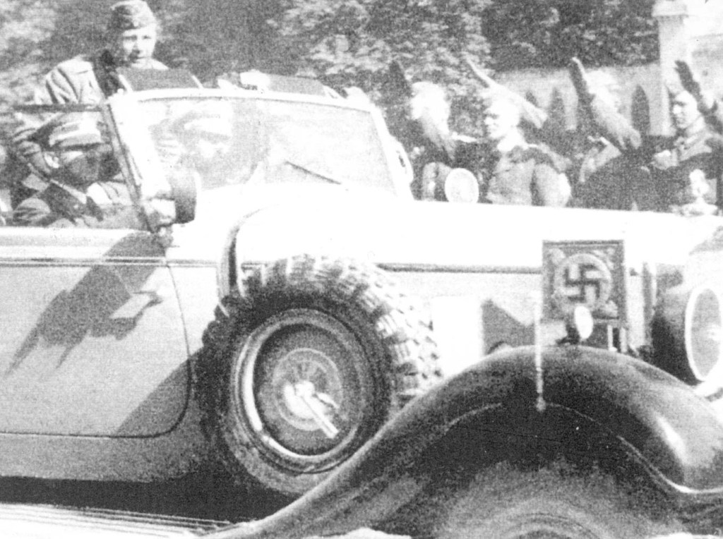 10 września 1939, wizyta Adolfa Hitlera w Końskich