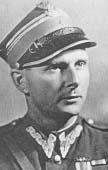 """Mjr Mieczysław Bielenin """"Ramzes"""", zdjęcie z 1944/45 r."""