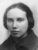 """Eugenia Laszczyk """"Żenia"""", zdjęcie przedwojenne"""