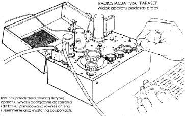 Radiostacja dalekiego zasięgu, używana w okresie II Wojny Światowej przez aliantów. Moc anteny 5 Wat, zasięg ok. 1200 km, wym. 220 x 140 x 111 mm, ciężar 2 kg.