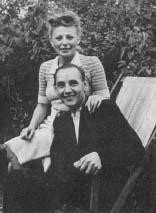 Irena i Jan Górcy w Dąbrowie pod Warszawą 1943 r.