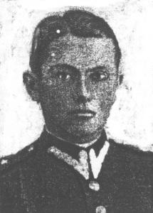 """Por. """"Polny"""" (Wacław Czosnek). Dowódca 7 kompanii 2 pp Leg."""