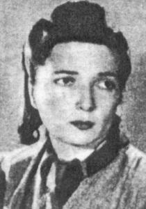 "Anna Mirecka-Lubowicka ""Hanka"", sanitariuszka I bat. 2 pp Leg. AK, odznaczona Orderem Virtuti Militari."