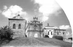 Święty Krzyż. Klasztor.