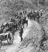 Wojska niemieckie za zgodą Bułgarii przemieszczają swoje oddziały przez przełęcz gór Rodopy, do Macedonii i dalej do  Grecji.