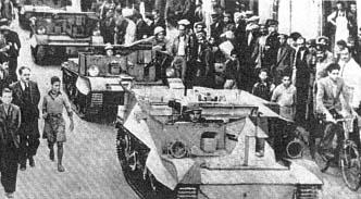 Brytyjski korpus ekspedycyjny dla wsparcia działań wojennych w Grecji.