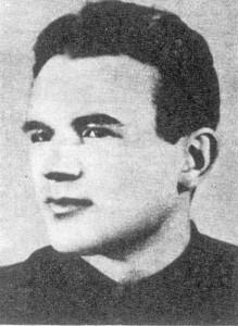 """Ppor. """"Maria"""" (Ignacy Pisarski). Dowódca oddziału partyzanckiego Obwodu Kozienice."""