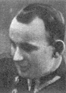 """Mjr """"Bartosz"""", """"Brzoza"""" (Józef Pawlak) Komendant Obwodu Kozienice."""