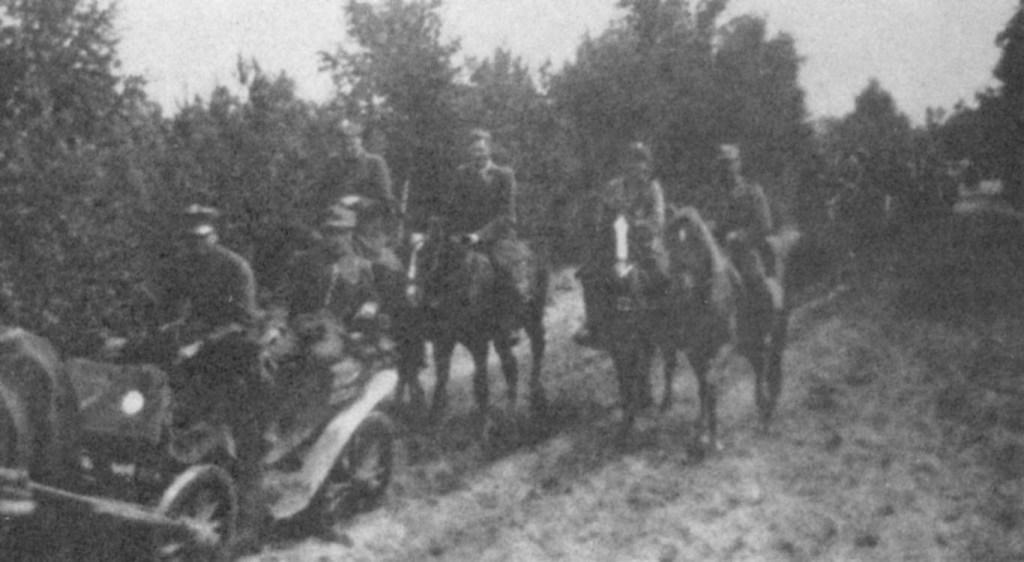 Marsz z Puszczy Nalibockiej do Puszczy Kampinowskiej. Białostocczyzna, lipiec 1944 r.