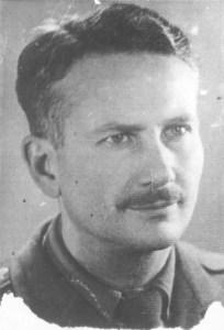 inż. Witold Gokieli, Warszawa 1945 r. Bezpośrednio po powrocie z obozu.