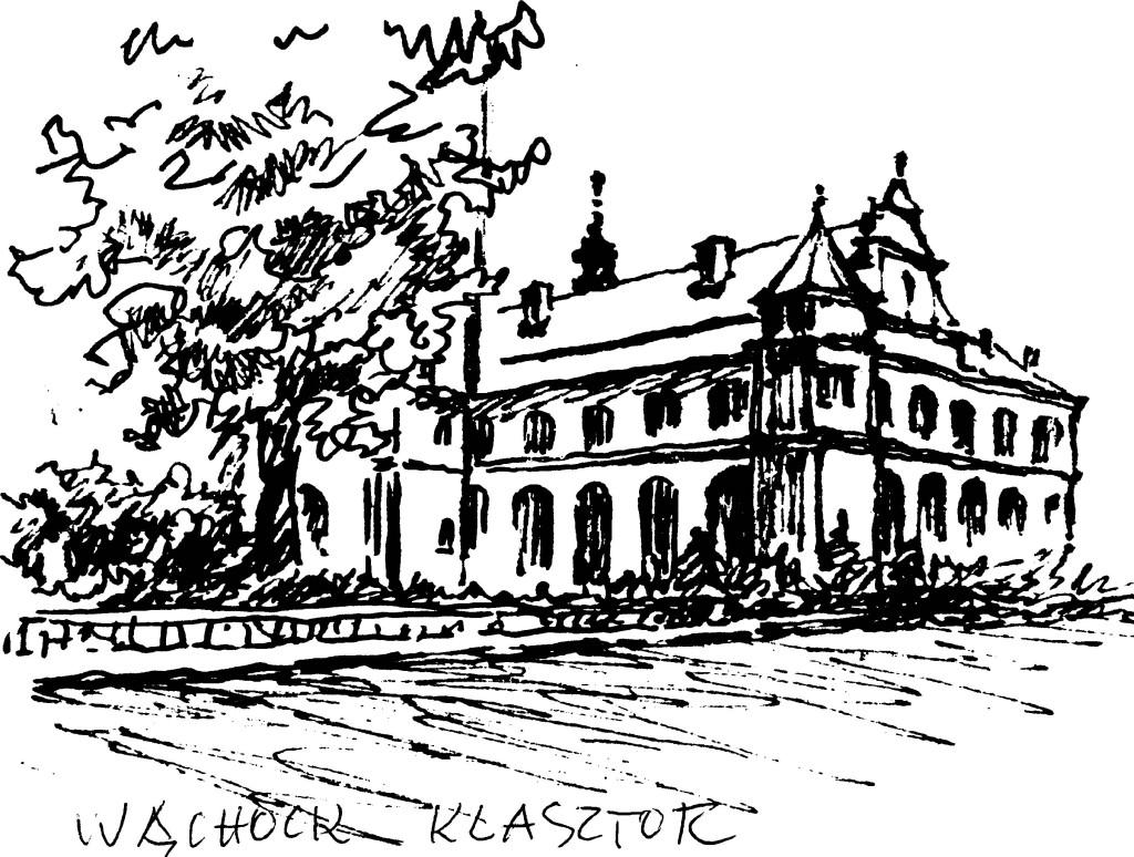 Grafika Marii Białej-Żwinis.