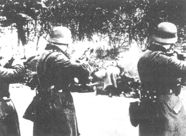 Egzekucja w radomskich lasach.