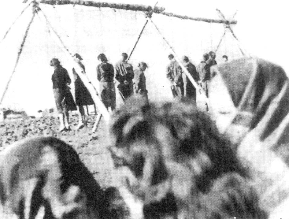 Polacy straceni w Radomiu 11października 1942 r.