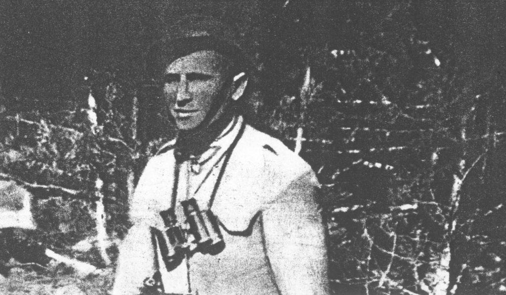 "Ppor. ""Robotnik"" (Bronisław Skóra-Skoczyński) zastępca dowódcy 2. kompanii 74. pp."