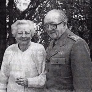 Z żoną Walerią w l992 r.